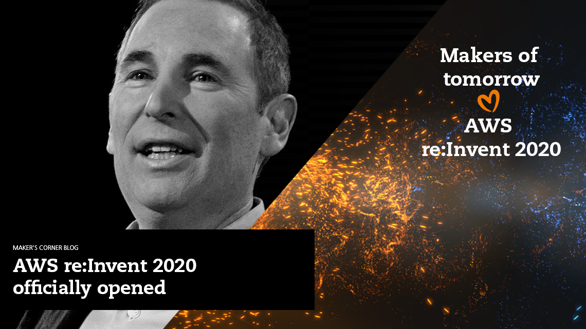 2.12. Read the blog: AWS re:Invent 2020 officially opened