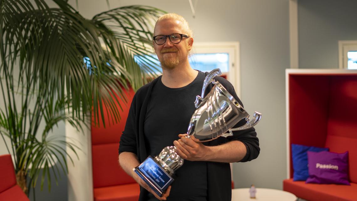 Jouni Luoma  Deepracer Nordic Winner 2019