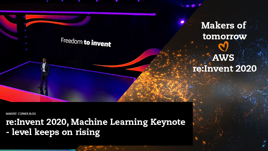 9.12. Machine Learning Keynote - read the blog