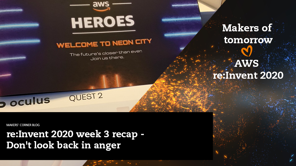 Blog: week 3 recap: big themes, top sessions and top announcements