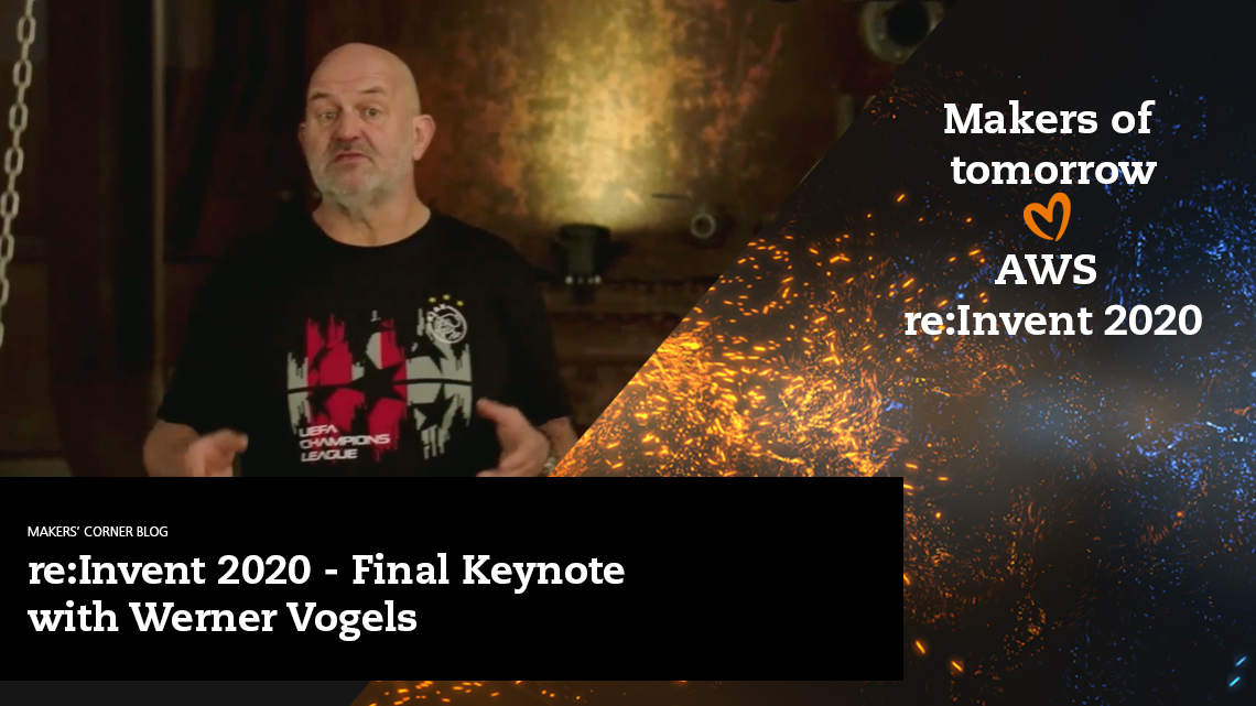Blog: Keynote with Werner Vogels